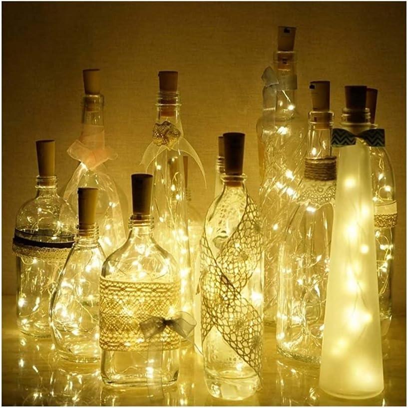 Factory outlet Flystcn Solar String Lights Fort Worth Mall Cork Wine for Cor Bottle