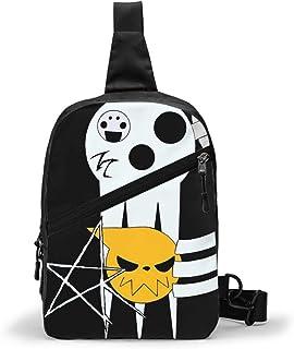 Soul Eater (13) Bolso Bandolera De Hombre Bolso Cruzada Hombre Bolsa De Pecho Sling Bag Crossbody Para Al Aire Libre Campi...