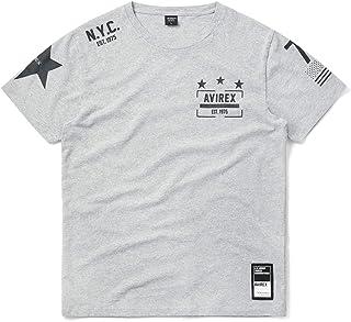 "AVIREX アビレックス 6193407 S/S 半袖 クルーネック Tシャツ""11 STARS"""