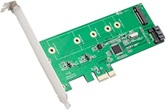 I/O Crest M.2 NGFF SDD + SATA III Port PCIe X1 Controller Card Components Other SI-PEX50069