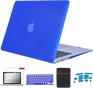 Se7enline 5in 1 MacBook Pro 15インチ ハードケース2009-2012年 旧型CD-ROM搭载専用+日本語キーボードカバー(JIS配列)対応モデル:[旧型MacBook Pro 15 インチA1286]、保護フィルム...