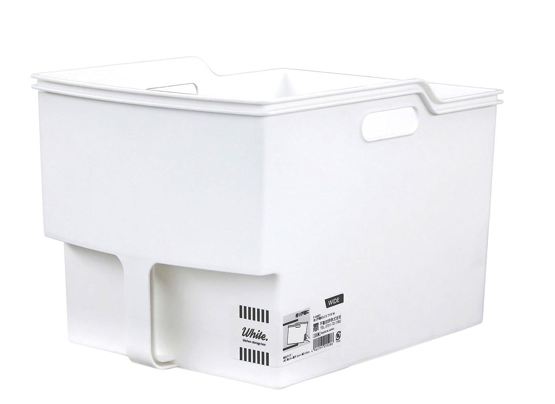 軽くとげチェリー不動技研(Fudogiken) キッチンストッカー ホワイト 高さ22×幅24×奥行33.4cm F40001