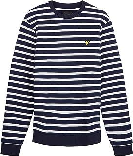 Lyle and Scott Mens Men's Breton Sweatshirt - Cotton