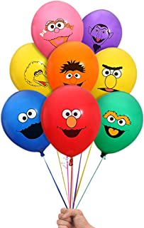 Sesame Street Elmo and Friends 24 Count Party Balloon Pack - Large 12