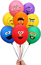 """Sesame Street Elmo and Friends 24 Count Party Balloon Pack - Large 12"""" Latex Balloons"""