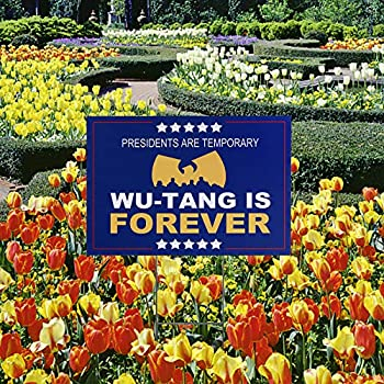 Yard Sign for Wu-Tang is Forever 11.8 x 17.7 inches Double Side UV Print with H-Frame Lift in Your Garden Outdoor Waterproof