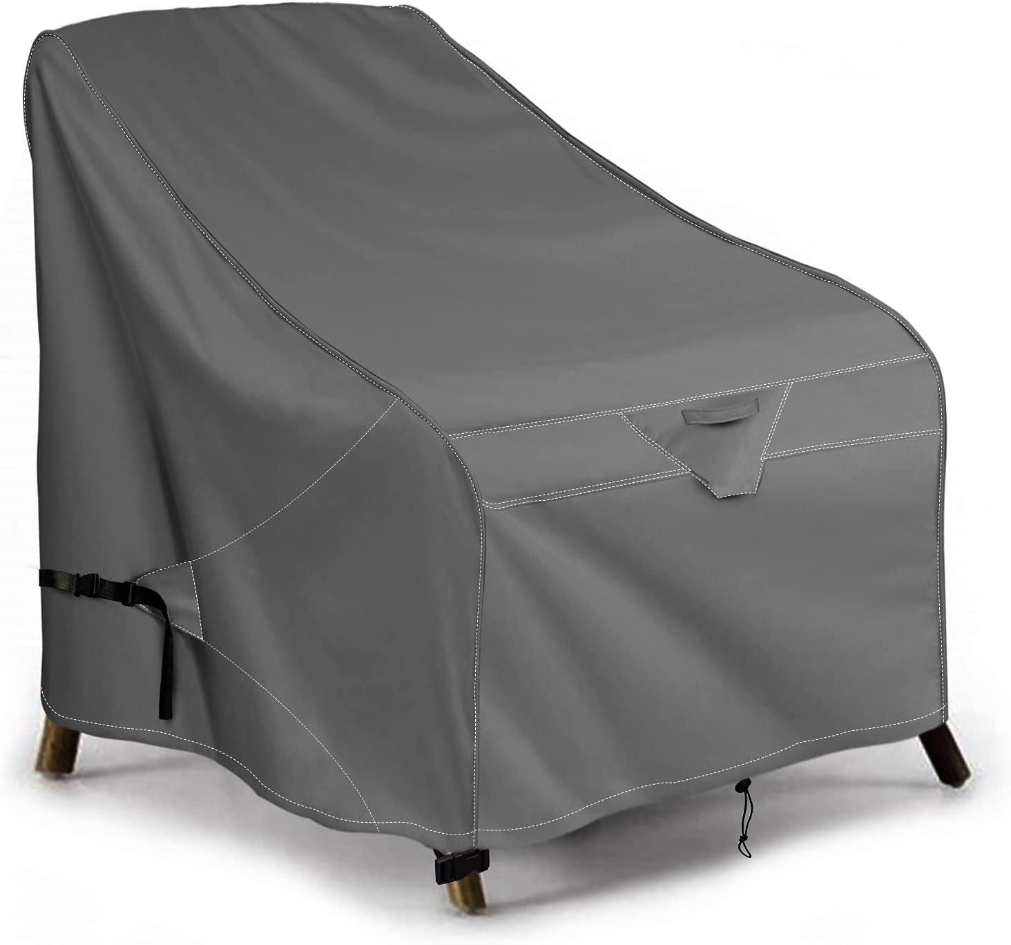 iKover Patio Chair Covers Lounge Max 81% OFF Deep Heavy Seat Duty Seattle Mall Cover an