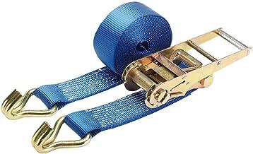 Draper 60954 5000 kg spanband met ratel, blauw, 8 m x 75 mm