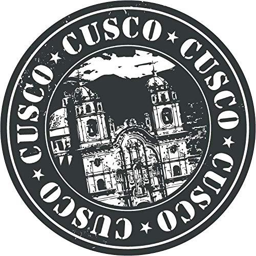 Cusco Travel Peru Retro Metal Sign 12x12 Inch