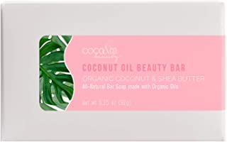 COCO & CO. Pure Coconut Oil Beauty Bar - All-Natural Soap For Face, Skin & Hair… (BAR)
