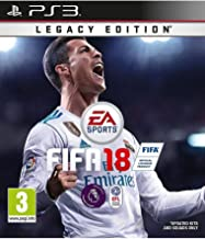 PS3 Legacy Edition EA Sports FIFA 18 Video Game