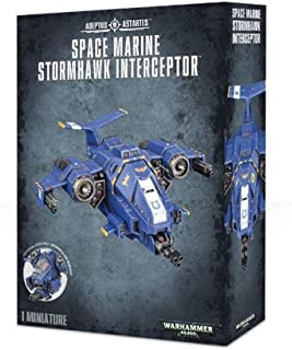 Warhammer 40k 48-42 Space Marine Stormhawk Interceptor Nip