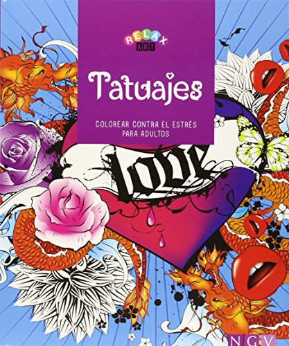 Tatuajes. Libros Para Colorear (Relax Art)