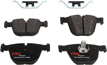 TRW TPC0919 Black Premium Ceramic Rear Disc Brake Pad Set