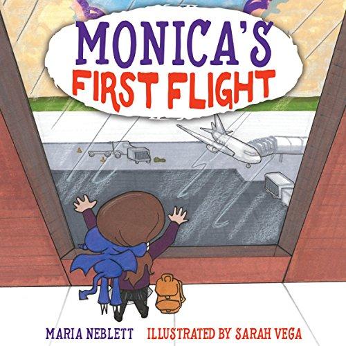 Monica's First Flight audiobook cover art