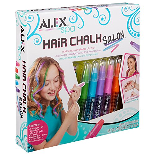 Alex Spa Hair Chalk Salon Girls Hair Activity