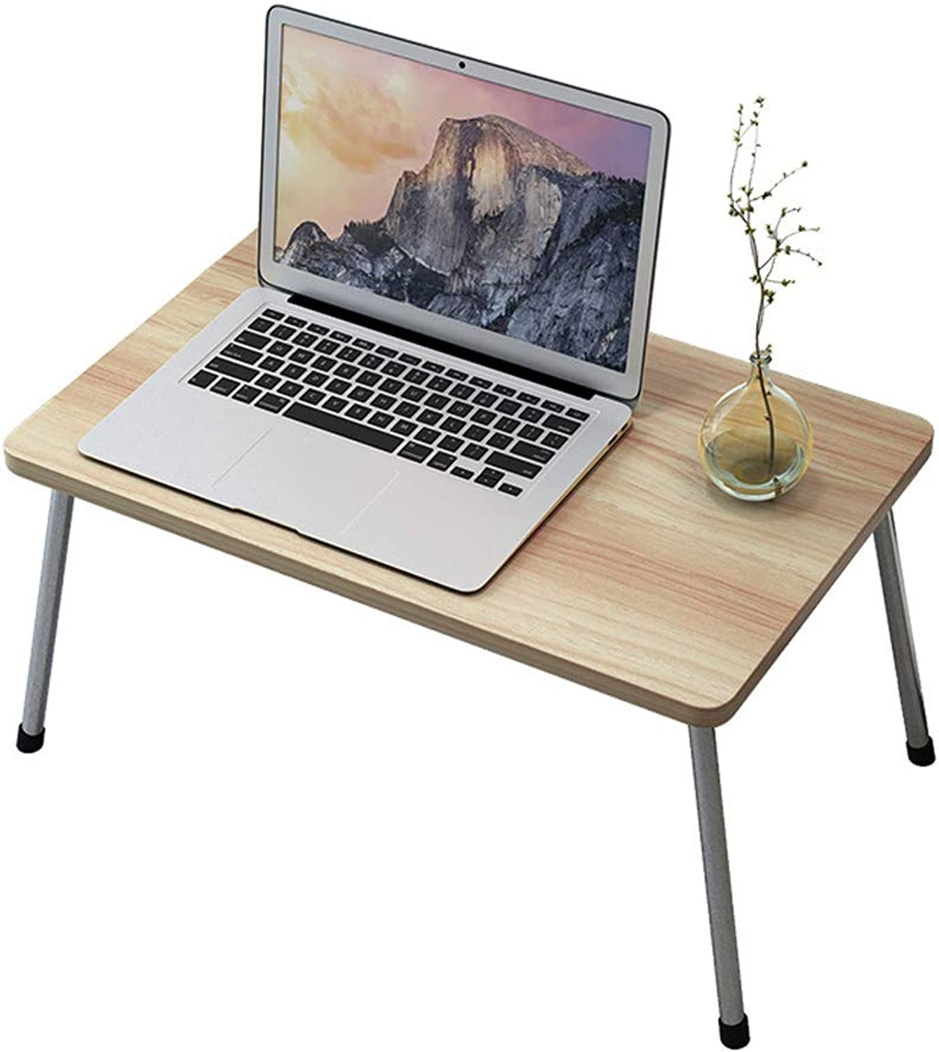 ZHAOSHUNLI Folding Table Bed Lazy Table Foldable Simple Home Bedroom Computer Sitting Table