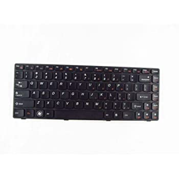 Black with Clear Saco Keyboard Protector Silicone Skin Cover for Lenovo G 50-45 Series 80E301A6IN 15.6-inch Laptop