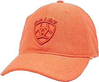 قبعة حريمي من ARIAT عليها شعار مطرز بعروة ولاصق قابلة للتعديل