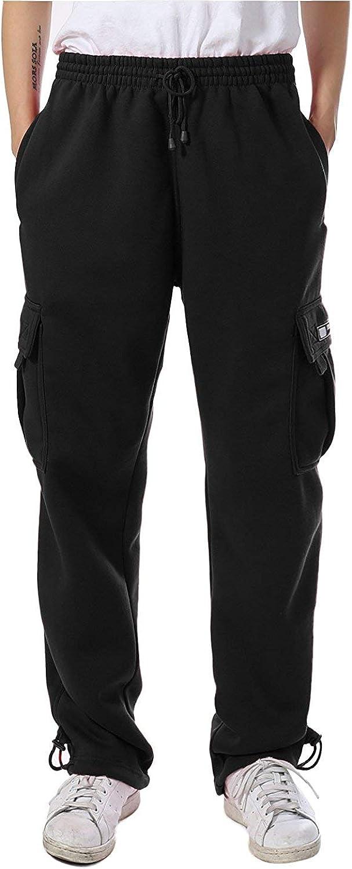 Men's Cargo Pocket Fleece Sweatpants
