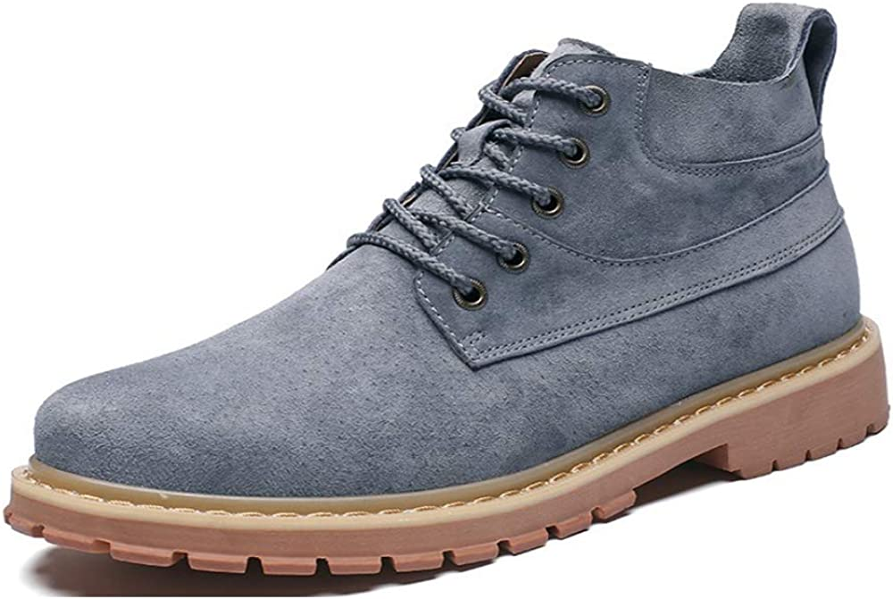 FENGDA Men's Minneapolis Mall Leather Boots Non SlipAnkle Hiking Sacramento Mall Win