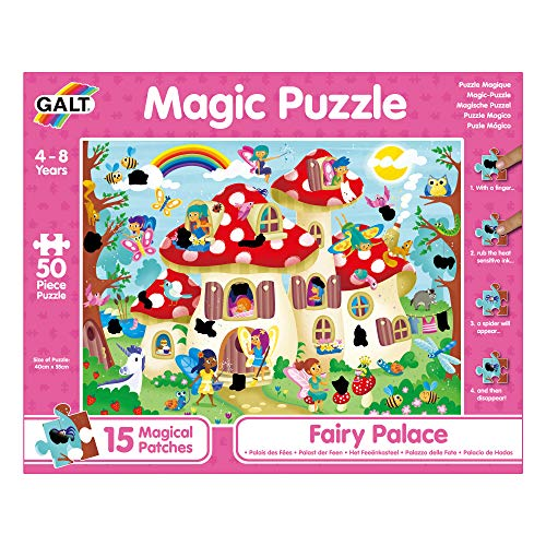 Galt Toys, Magic Puzzle - Fairy Palace, Magic Jigsaw Puzzle, Ages 4 Years Plus