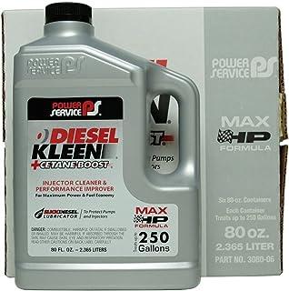 Power Service Diesel Kleen + Cetane Boost - 6/80oz. Bottles
