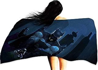 Cowspring Beach Towel Personalized Custom Batman Joker dc Comics