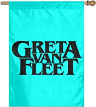 TXFASHIONshop Greta Van Fleet- Home Garden Flag Vertical Double Sided Spring Summer Yard Outdoor Decorative 27