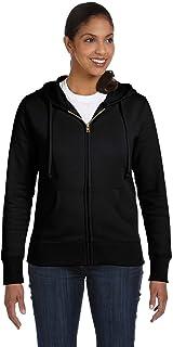 econscious Ladies' 9 oz. Organic/Recycled Full-Zip Hood