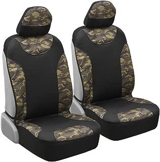 teal camo seat covers set