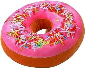 TOYMYTOY 3D-kussen donut, zacht en gezellig, pluche, donut gooien kussen plush speelgoed voor woonkamer, slaapkamer, decor...