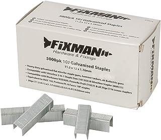 comprar comparacion Fixman 810318 10J - Grapas galvanizadas (11,2 x 12 x 1,16 mm, 5000 unidades)
