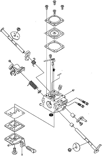 popular Husqvarna lowest 506450401 Chainsaw Carburetor Genuine Original Equipment sale Manufacturer (OEM) Part online