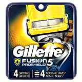 Gillette Fusion5 ProShield - Cuchillas de afeitar para hombre (4 recambios)