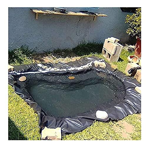 YJFENG Flexible Revestimiento De Estanque, Piscina Subyacer Impermeable Película De Protección, 0,5 Mm Tarea Pesada Impermeable Reforzado Lona Membrana para River Slope Fuente