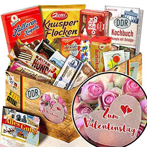 Zum Valentinstag / DDR Süßigkeiten Box / Valentinstag für Ihn