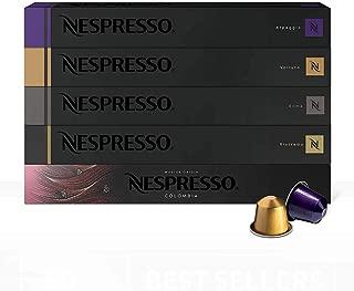 Nespresso, Sistema Original, Paquete de 50 cápsulas de Café Best Sellers (Incluye 10 cápsulas de cada variedad)