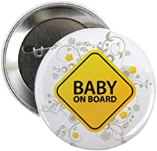 CafePress Baby On Board - Baby 2.25