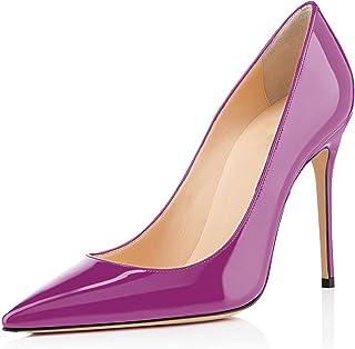 elashe - Chaussures à talon - Decolleté fermé pour femme - Élégantes hauteur 4 pouces - Chaussures à bout fermé pour femme