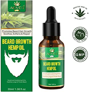 Beard Growth Oil for Men, Natural FacialHair Growth Oil Beard Oil Enhancer Beard Grow Faster Great Beard Products for Men Care 30ml