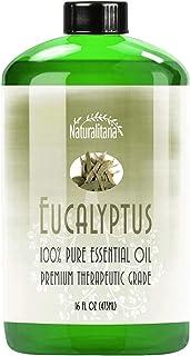 Best Eucalyptus Essential Oil (16oz Bulk Eucalyptus Oil) Aromatherapy Eucalyptus Essential Oil for Diffuser, Soap, Bath Bo...