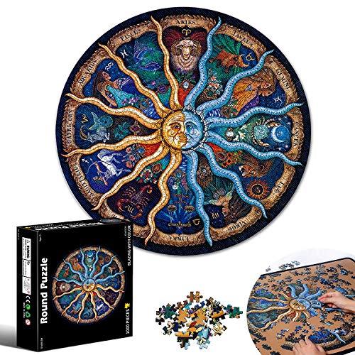 Puzzle Classici, Adulti Jigsaw, Puzzle Creativo, Puzzle Cartone, Costellazione Puzzle, Puzzle Rotondo, Gradient Puzzle, Educazione Intellettuale E Giocattoli Puzzle Antistress Per Bambini E Adulti