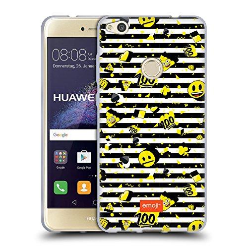 Head Case Designs Oficial Emoji Rayas Patrones 2 Carcasa de Gel de Silicona Compatible con Huawei P8 Lite (2017)