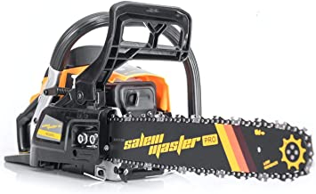 SALEM MASTER 6220G 62CC 2-Cycle Gas Powered Chainsaw, 20-Inch Chainsaw, Handheld Cordless..