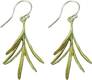 Michael Michaud Petite Herb Rosemary Wire Earrings 3085