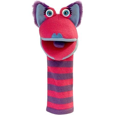 The Puppet Company Chaussettes Kitty Tricoté Marionnette à Main