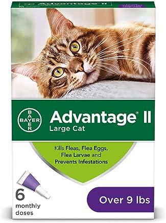 Bayer Advantage II Flea Prevention for Cats, 6 Dose
