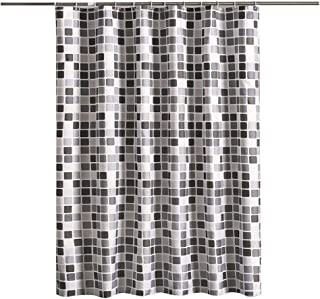 """Home Decorative Shower Curtain Set for Bathroom 72""""x79""""(180x200cm) with Hooks No Liner Needed Waterproof Quick-Drying Poly..."""