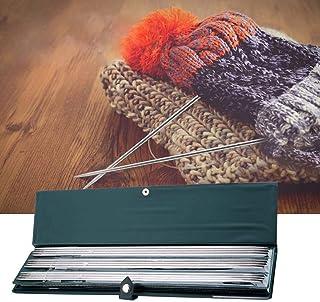 手編み針セット、44本 36cm 編み針 ステンレス 棒針 編み物 手芸セーター 編み針 ダブルポインテッド ストレート 編み針 手芸用品 セーター マフラー カーペットなど 手作り 道具 初心者 アマチュアニットに最適